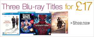 Three Blu-ray Titles for £17--Shop Now