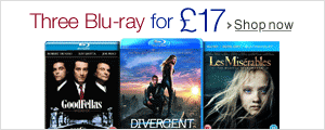 Three Blu-ray for £17--Shop now