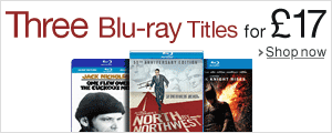 Three Blu-ray Titles for £17