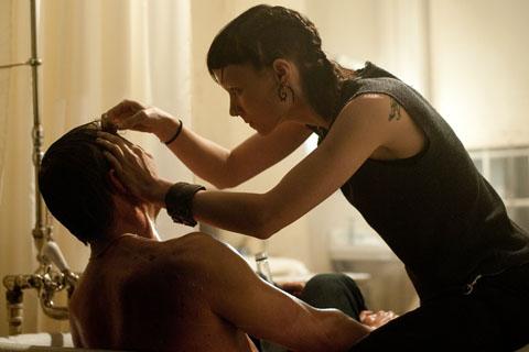 Rooney Mara and Daniel Craig