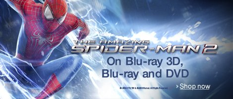 The Amazing Spider-Man 2 on DVD and Blu-ray
