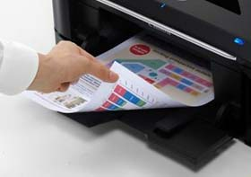 Duplex Printing which allows printing on both sides of paper