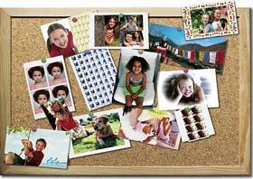 Photo pinboard
