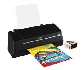 Epson Stylus S21 general purpose printer with individual inks