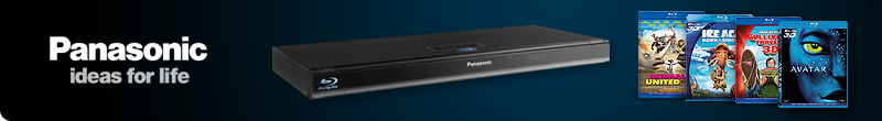 Claim Four Free 3D Blu-ray Films with Selected Panasonic Blu-ray Players