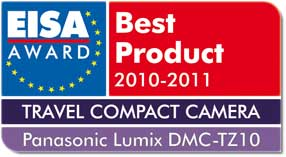 Lumix G2 Wins Best Travel Compact Camera 2010/11 EISA Award