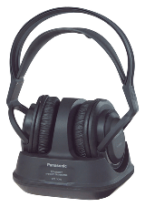 image of Panasonic HSC200 sports ear clip headphones