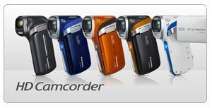 Active HD Camcorder Range
