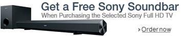 Sony Free Soundbar Offer