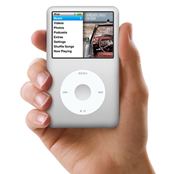 Apple iPod classic offers 160GB of storage in your hand