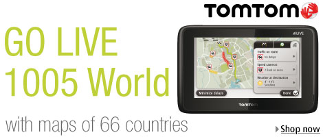 Tom Tom Go Live 1005 World