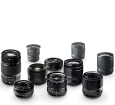 Lenses by Fujifilm