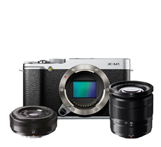 Compact System Cameras by Fujifilm