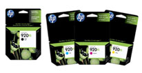 HP Original 920XL inks