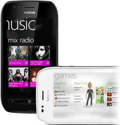 Nokia Lumia 710 with Xbox Live and Nokia Music