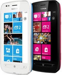 Nokia Lumia 710 with Windows Phone