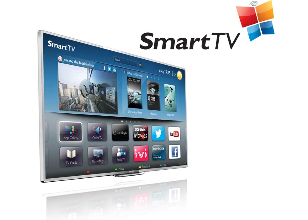 Philips 42 quot 42pfl3208t full hd smart wifi ready led tv with freeview
