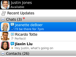 BBM Chats