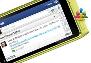 The Nokia N8 brings your friends together