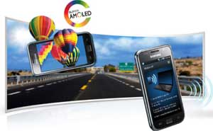 GT-I9000. Super AMOLED display for the most amazing viewing experience coupled with a 1GHz processor for blistering speeds