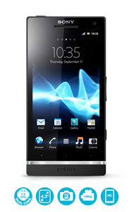 Sony Ericsson Xperia S smartphone