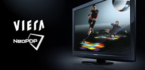 Panasonic's VIERA NeoPDP plasma televisions feature breakthrough technology to bring deeper blacks and sharper pictures