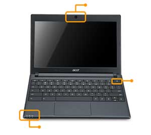 See  how all the features of the Acer Chromebook fit together