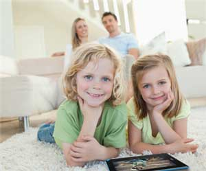 Ideal for families, the Acer Iconia B1 is light and robust enough to be used by children