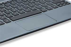 The large click-anywhere touchpad makes navigating the web fast and intuitive.