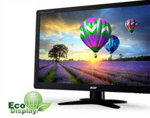 Using LED backlight technology means these monitors do not contain mercury, and can result in up to 68% power savings.