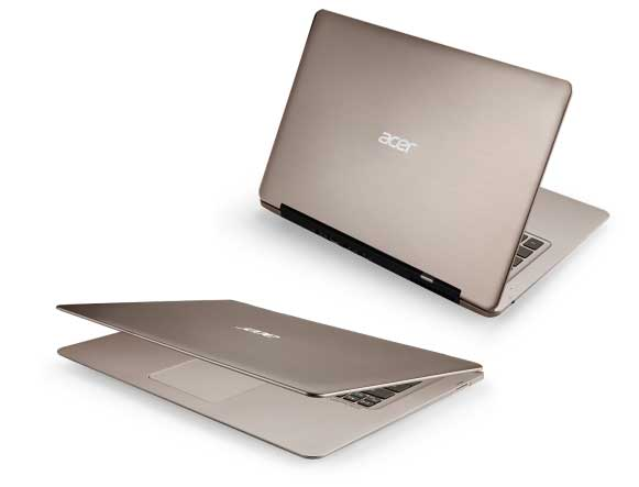 acer aspire s3 391 133 inch ultrabook aluminium intel core i5 acer aspire s3 391 6676 133 inch ultrabook champagne on sale 581x443