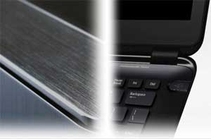 The Acer Aspire S5 has been designed with a number of different textures and finishes to make it a pleasure to hold