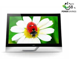 Using LED backlight technology means these monitors do not contain mercury, and can result in up to 68% power savings