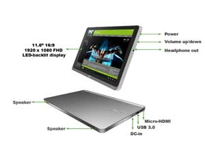 The breath-taking Acer Aspire S5 Ultrabook is ultra-thin, ultra-light and ultra-responsive