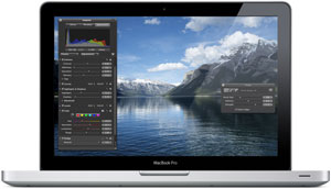 The 13-inch MacBook Pro uses the NVIDIA GeForce 320M integrated graphics processor