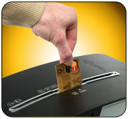 Shred Credit Cards With Ease
