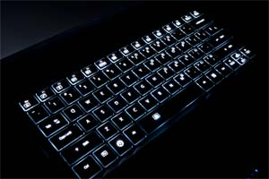 Backlight Keyboard with Auto Adjustment