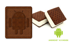 Scroll Excel II boasts the latest Android 4.0, Ice Cream Sandwich operating system