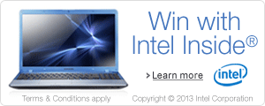 Win with Intel Inside�