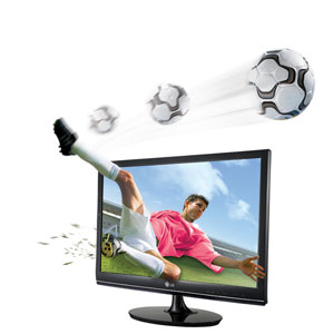 LG DM2780D 27 inch Cinema 3D TV Monitor