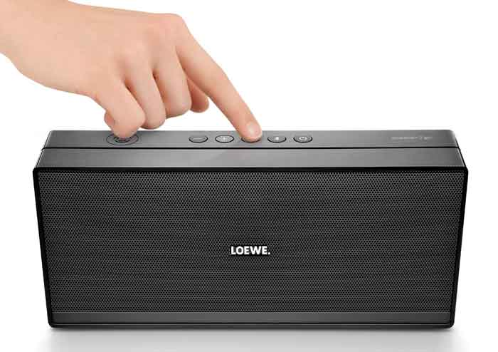 loewe speaker 2go wireless bluetooth speaker. Black Bedroom Furniture Sets. Home Design Ideas