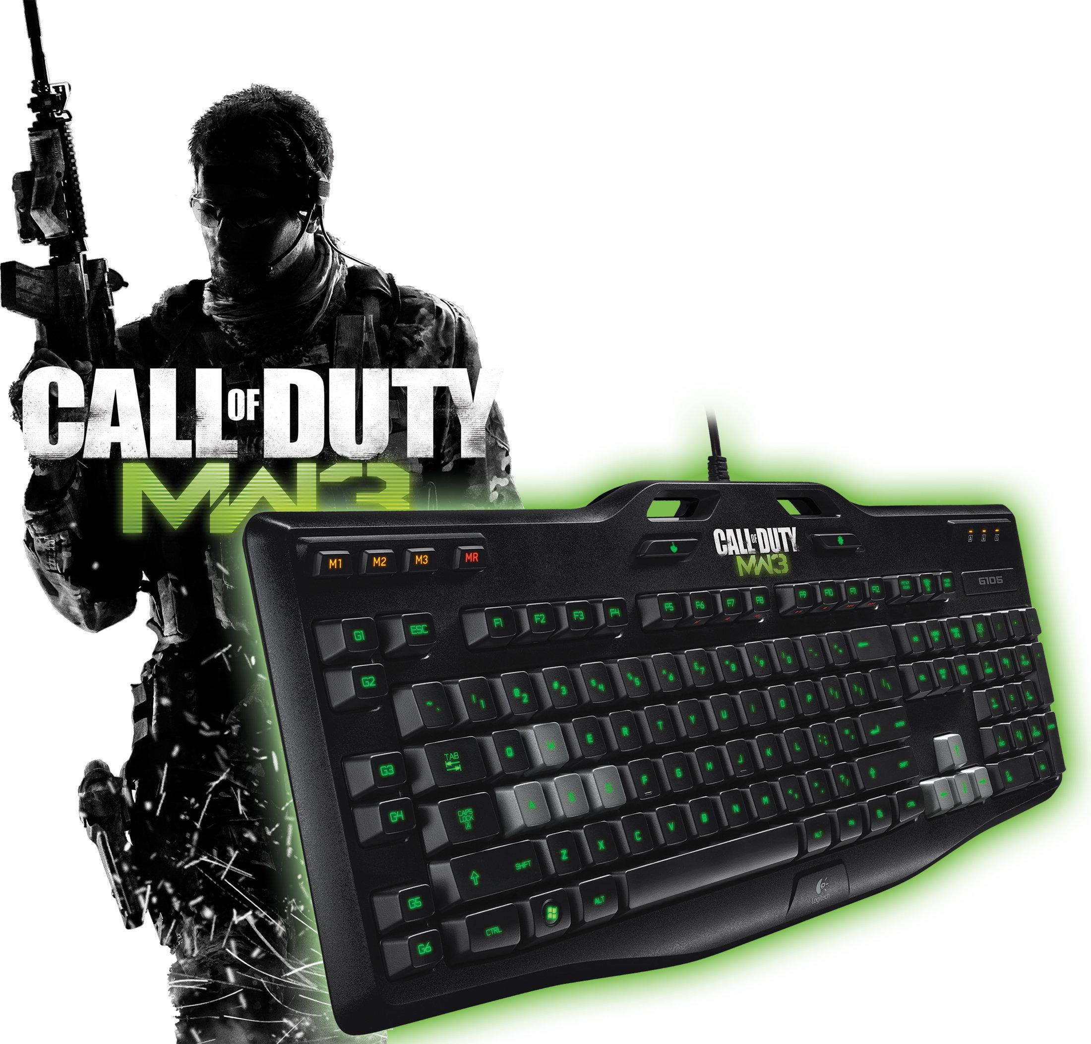 Logitech G105 Call Of Duty Gaming Keyboard Amazon Co Uk