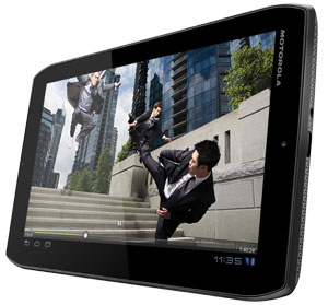 The Motorola XOOM 2 Media Edition comes with multiple speakers and booming subwoofer