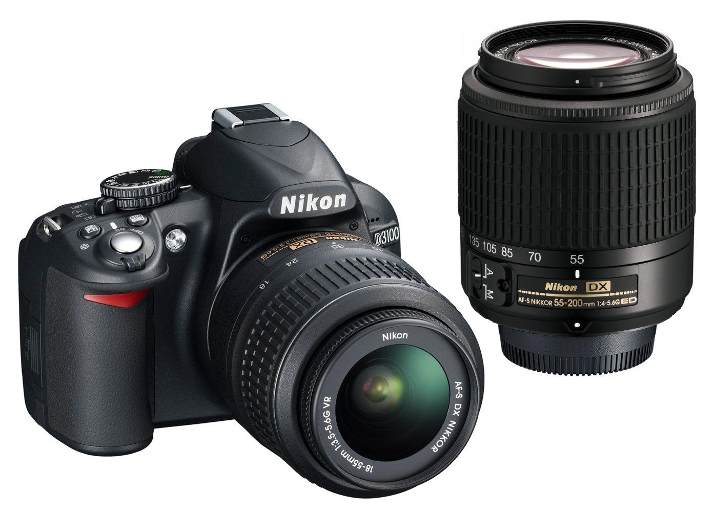 Nikon D3100 Digital SLR Camera with 18-55mm VR Lens Kit