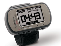 Garmin Foretrex 301: Time yourself