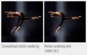 1600Hz Back Light Scanning (BLS)