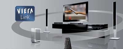 Viera link technology connects all your home entertainment