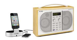 You can even connect the i-20 to your PURE radio for great sound quality