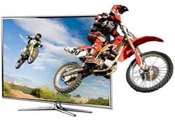 Experience an extra dimension with Samsung 3D TV, including conversion of your favourite 2D movies into 3D.