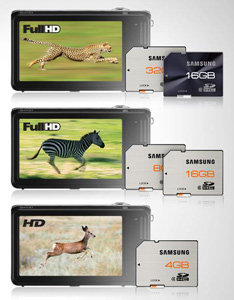 Samsung SD HD Images